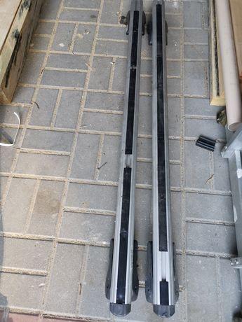 BAGAŻNIK DACHOWY belki na dach RELINGI 120cm dozer