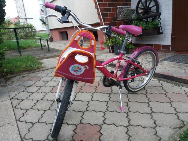 Rower Btwin 20 cali z torebka