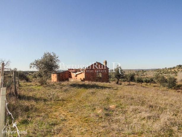 Terreno com casa para construção