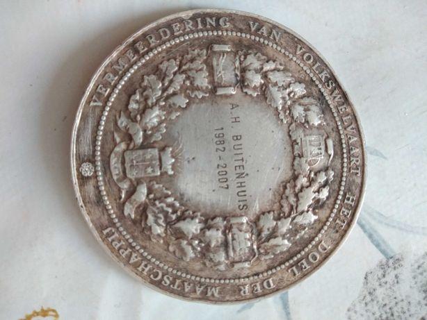 Medal Nederlandsche Maatschappij voor Nijverheid en Handel.