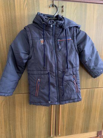 Куртка для хлопчика 7-8 років ріст 128