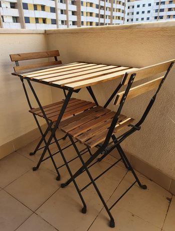 Conjunto mesa e cadeiras Tarno Ikea
