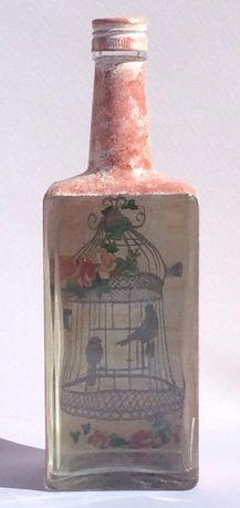 garrafas antigas restauradas