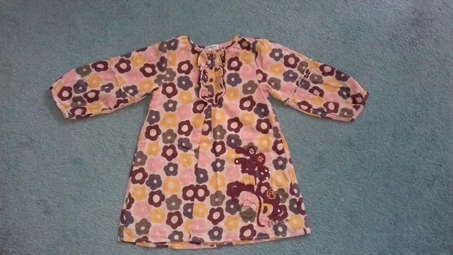 sukienka/tunika r. 86/92 bdb