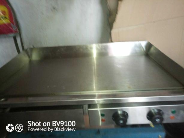 Płyta grillowa Piecyk frytkownica gril kontaktowy wyposażenie kebab