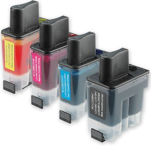 Tinteiros impressora Brother - LC900 LC900BK LC900M LC900Y LC900C