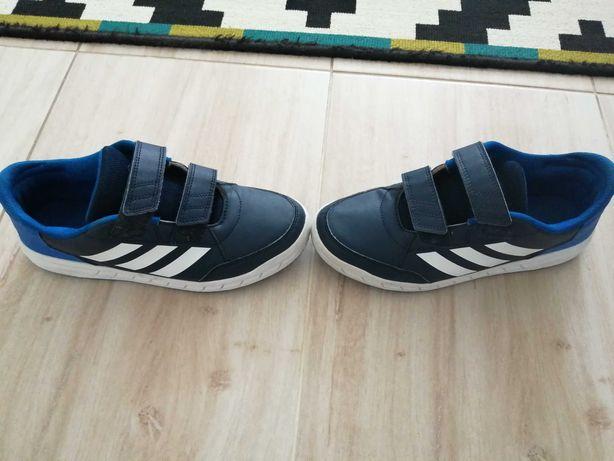 Adidasy adidas na rzepy roz. 38 jak nowe