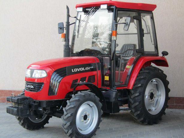 Трактор LOVOL TB-454+з кабіною Гарантiя/Доставка без предоплат2021!!