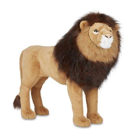Мягкая игрушка ТМ Melissa&Doug Гигантский плюшевый лев