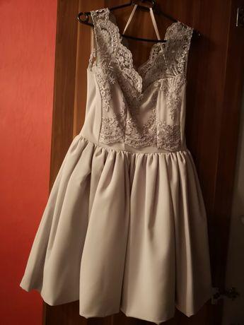 Sukienka koronka gipura