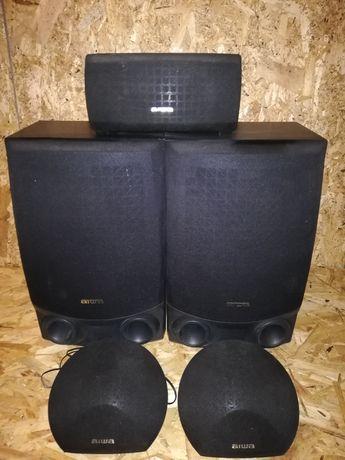 Głośniki kolumny aiwa zestaw