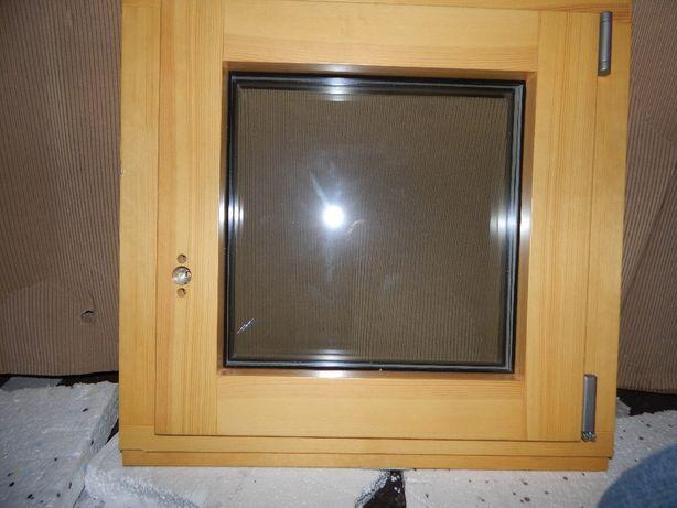 Okno drewniane ładne