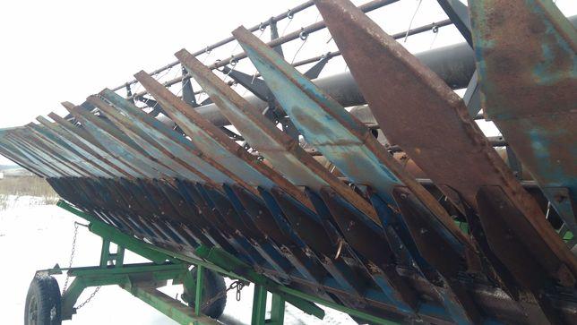 Приспособление для уборки подсолнечника лифтера джон дир 6.7 м