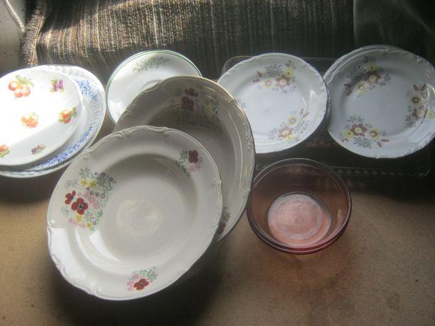 Zastawa stołowa, przybory kuchenne i inne.