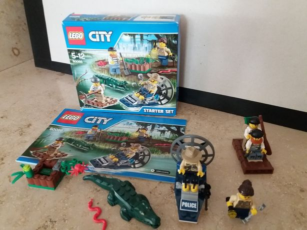 LEGO City 60066 Policja wodna kompletny