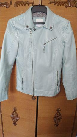Лёгкая кожаная куртка