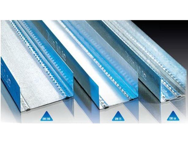 Profil U100 UW100 4m do karton gipsu do stawiania ścian działowych