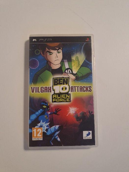 Gra na PSP - Ben 10 Alien Force Vilgax Attacks Siedlce - image 1