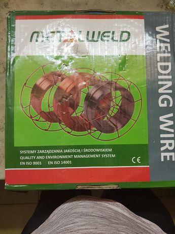 Drut spawalniczy firmy MIGWELD 309LSI 0.8mm waga