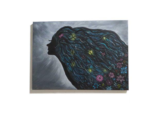 pintura acrílica em tela - 70x50 cm