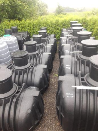 Zbiornik na Deszczówkę Wodę podziemne naziemne 5000L 3300L 2500L 1000L