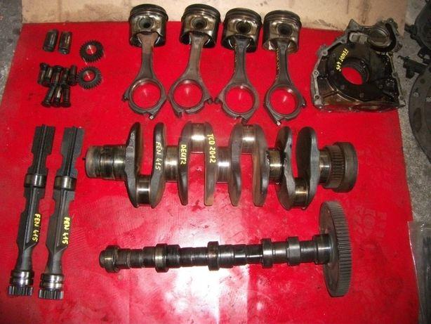 Fendt,Deutz-silnik TCD2012 L04 4V-wał,tłok,korbowód,głowica,miska