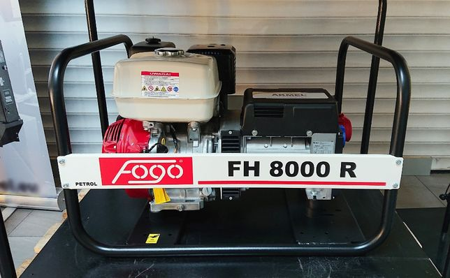 Agregat prądotwórczy FOGO FH8000R AVR 6 kW 400V HONDA