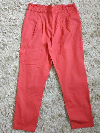Atmosphere 40/42 Czerwone eleganckie spodnie z kieszeniami
