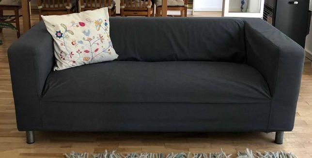 Sofá 2 lugares com capa IKEA usado bom estado