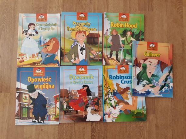 Książki dla dzieci - kolekcja, Alicja, Guliwer ...