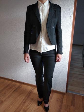 Damski garnitur, żakiet, marynarka, spódnica, spodnie (rozm. S/M)