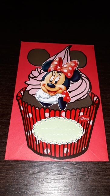 Zaproszenia Minnie Mause urodziny