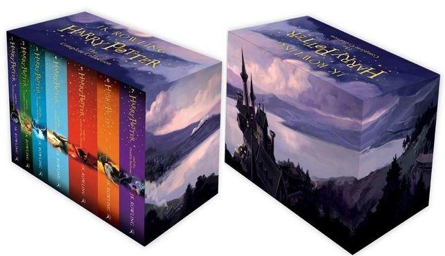 Harry Potter J.K. Rowling (siedmiopak Duddle - oprawa twarda)
