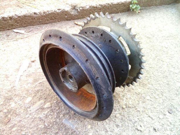 Cubo de roda traseira e cremalheira