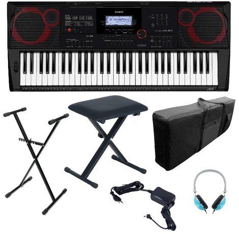 Keyboard Casio CT X3000 Statyw Pokrowiec Ława Słuchawki NOWY WYSYŁKA