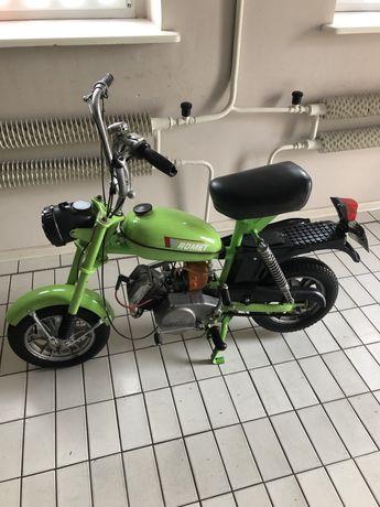 Motorynka M2 zarejestrowana