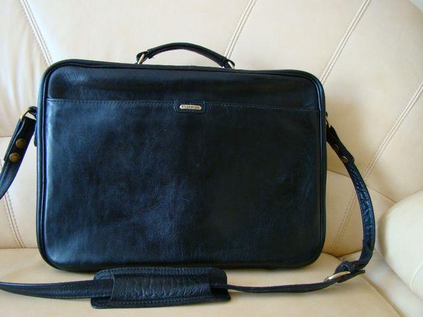 solidna, skórzana torba/teczka męska HIDESIGN - skóra naturalna, A4