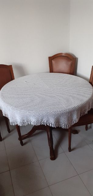 Toalha em crochet
