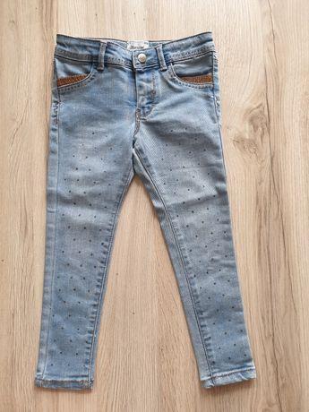 Jeansy spodnie rurki Mayoral