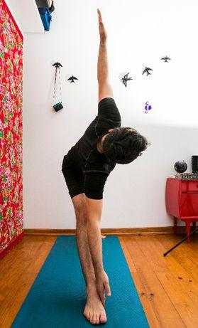 Aulas de Hatha Yoga, em modo on-line.