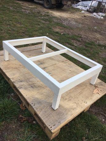 Stelaż aluminiowy stolik 120 x 80 x 30