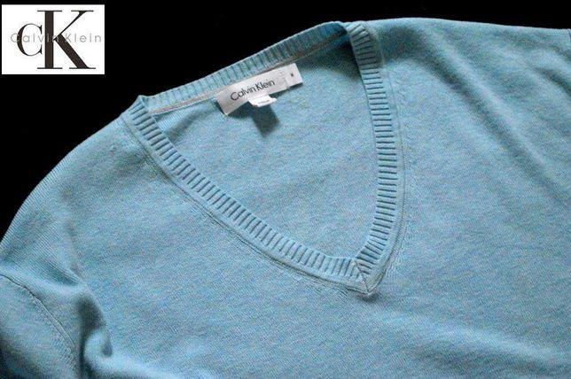 Calvin KLEIN CK sweter NOWY sweterek M bawełniany męski / damski