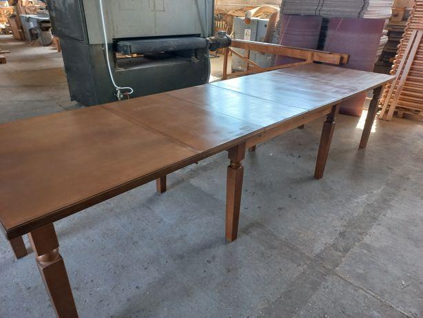 Стіл столовий, бенкетний, розкладний з масива 3,6 м