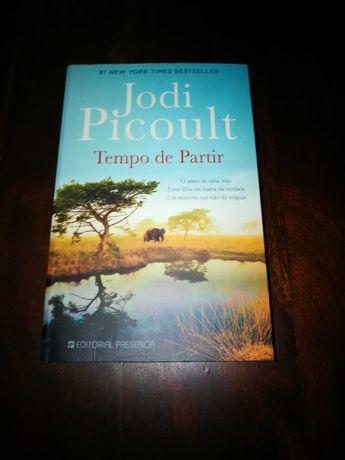 Tempo de Partir de Jodi Picoult; - Trad: Manuela Madureira (COMO NOVO)