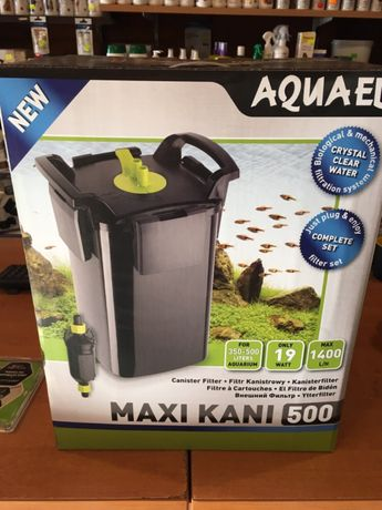 Aquael filtr zewnętrzny MAXI KANI 500 - Małe ZOO Płaskowickiej