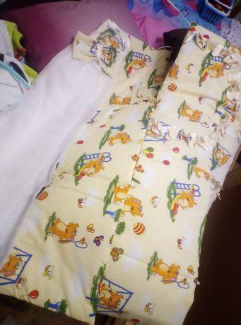 Детский набор защита для кроватки