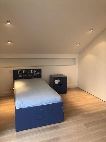 OKAZJA: Komplet mebli dziecięcych: łóżko, biurko, szafka