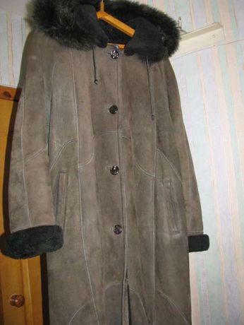 Дубленка шуба пальто цегейковая цегейка р.46-50