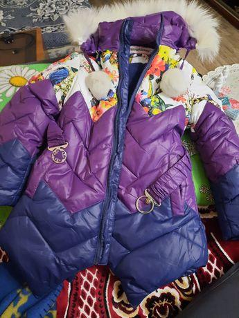 Детское пальто  девочка