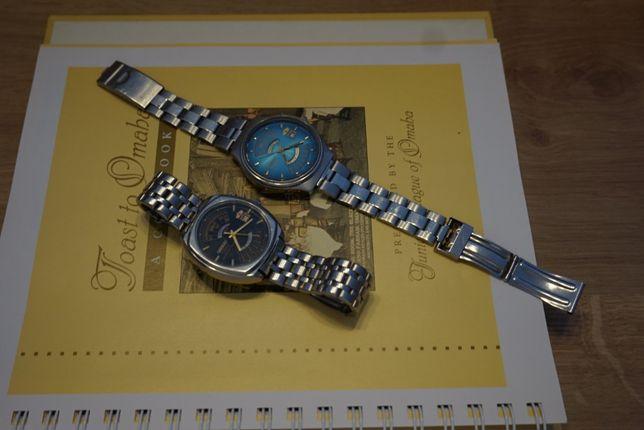 Niebiesko-czarny automatyczny zegarek Imperial Orient - patelnia